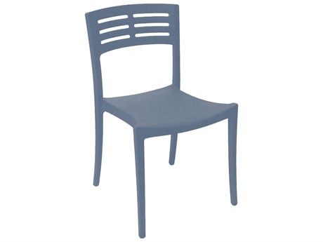 Grosfillex Vogue Stacking Sidechair (Sold in 4)