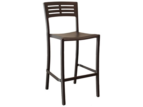 Grosfillex Vogue Armless Barstool (Sold in 2)