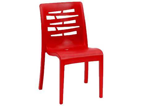 Grosfillex Essenza Stacking Chair (Sold in 4)