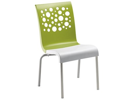 Grosfillex Tempo Aluminum Stacking Chair (Sold in 4)