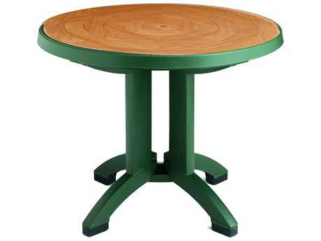 Grosfillex Atlantis Resin 38 Round Folding Table