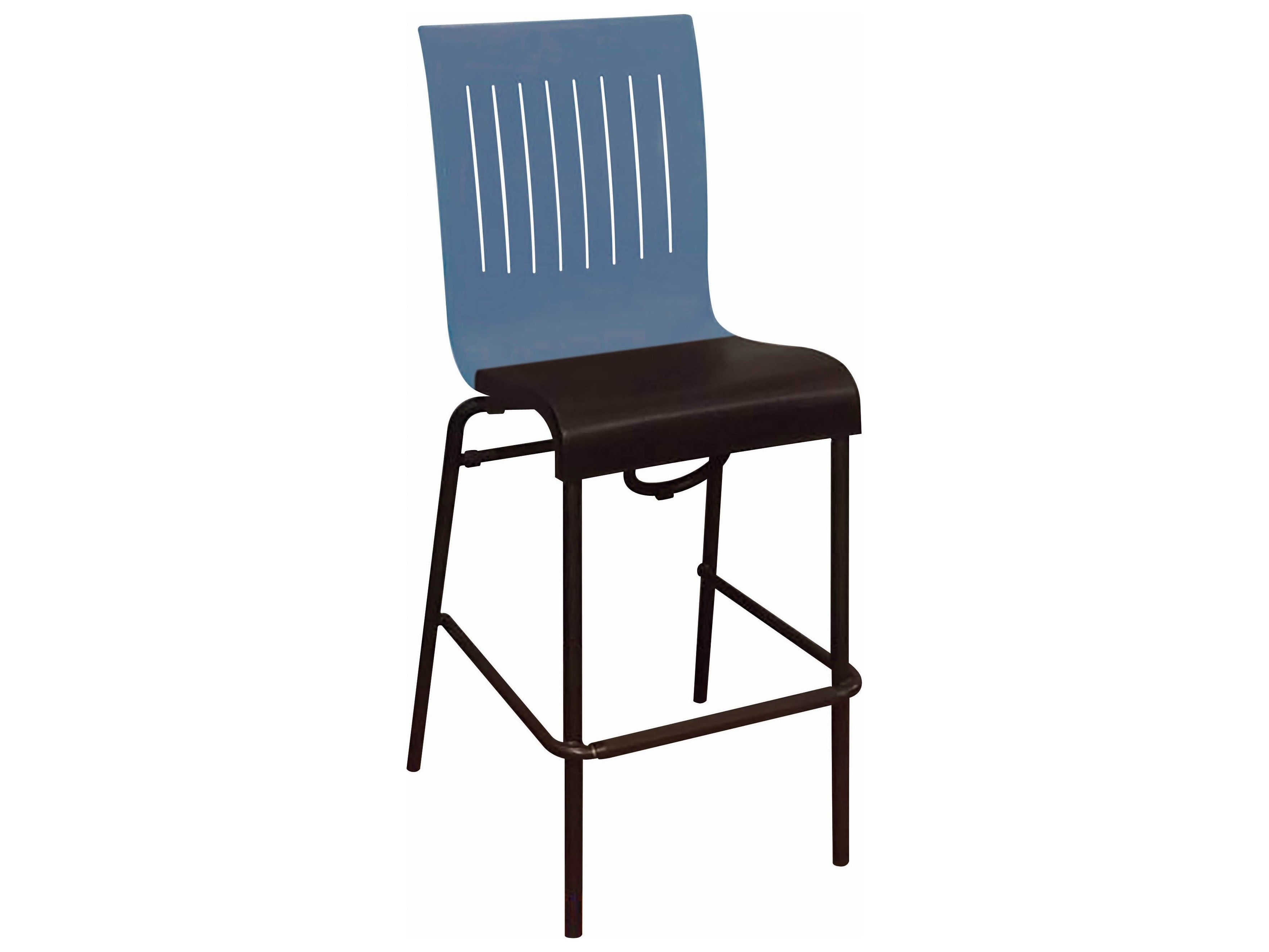 Grosfillex Viva Aluminum Stacking Barstool Sold In 2