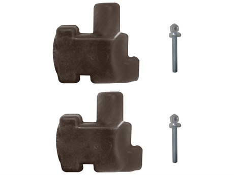 Grosfillex Aluminum Brown Connector Pack (Sold in 2)