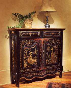 Habersham Chinoiserie Hall Chest