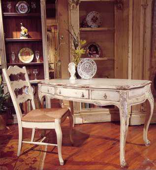 Habersham Louis XV 55 x 30 Secretary Desk