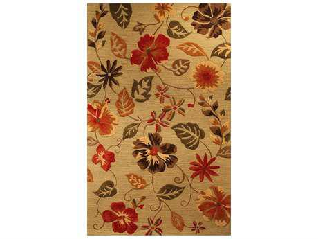 Harounian Rugs Fresco Rectangular Sage Area Rug