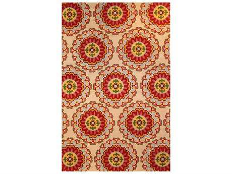 Harounian Rugs New Vision Rectangular Ivory Area Rug