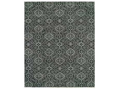 Harounian Rugs Vogue Rectangular Charcoal & Grey Area Rug