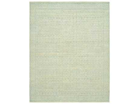 Harounian Rugs Vogue Rectangular Ivory & Light Blue Area Rug
