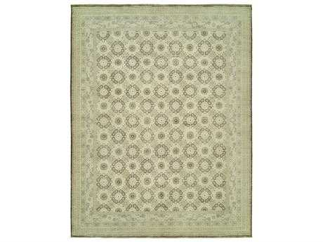 Harounian Rugs Vogue Rectangular Ivory & Brown Area Rug