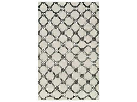 Harounian Rugs Willow Rectangular Grey Area Rug