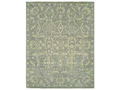 Harounian Rugs Aria Rectangular Medium Blue Area Rug