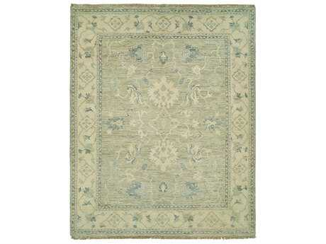 Harounian Rugs Aria Rectangular Light Grey & Beige Area Rug