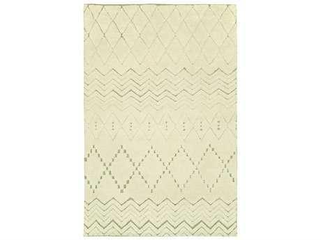 Harounian Rugs Oasis Rectangular Ivory & Grey Area Rug