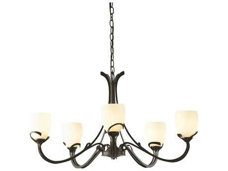 Hubbardton Forge Aubrey 33.6'' Wide Five-Light Incandescent Chandelier