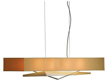 Hubbardton Forge Facet Four-Light Incandescent Island Light