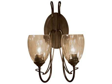 Hubbardton Forge Trellis Two-Light Incandescent Wall Sconce