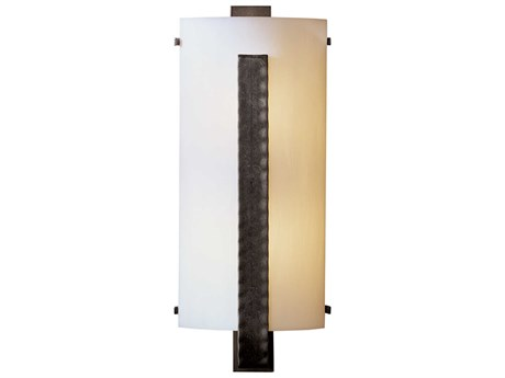 Hubbardton Forge Vertical Two-Light Small Incandescent Wall Sconce