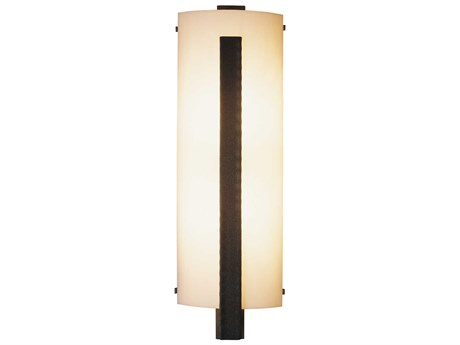 Hubbardton Forge Vertical Two-Light Large Incandescent Wall Sconce