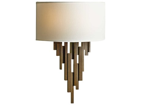 Hubbardton Forge Echelon Two-Light Incandescent Wall Sconce
