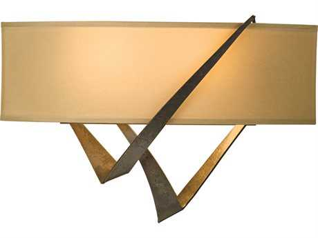 Hubbardton Forge Stream Two-Light Incandescent Wall Sconce