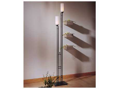 Hubbardton Forge Metra Two-Light Fluorescent Floor Lamp