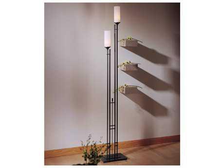 Hubbardton Forge Metra Two-Light Fluorescent Floor Lamp