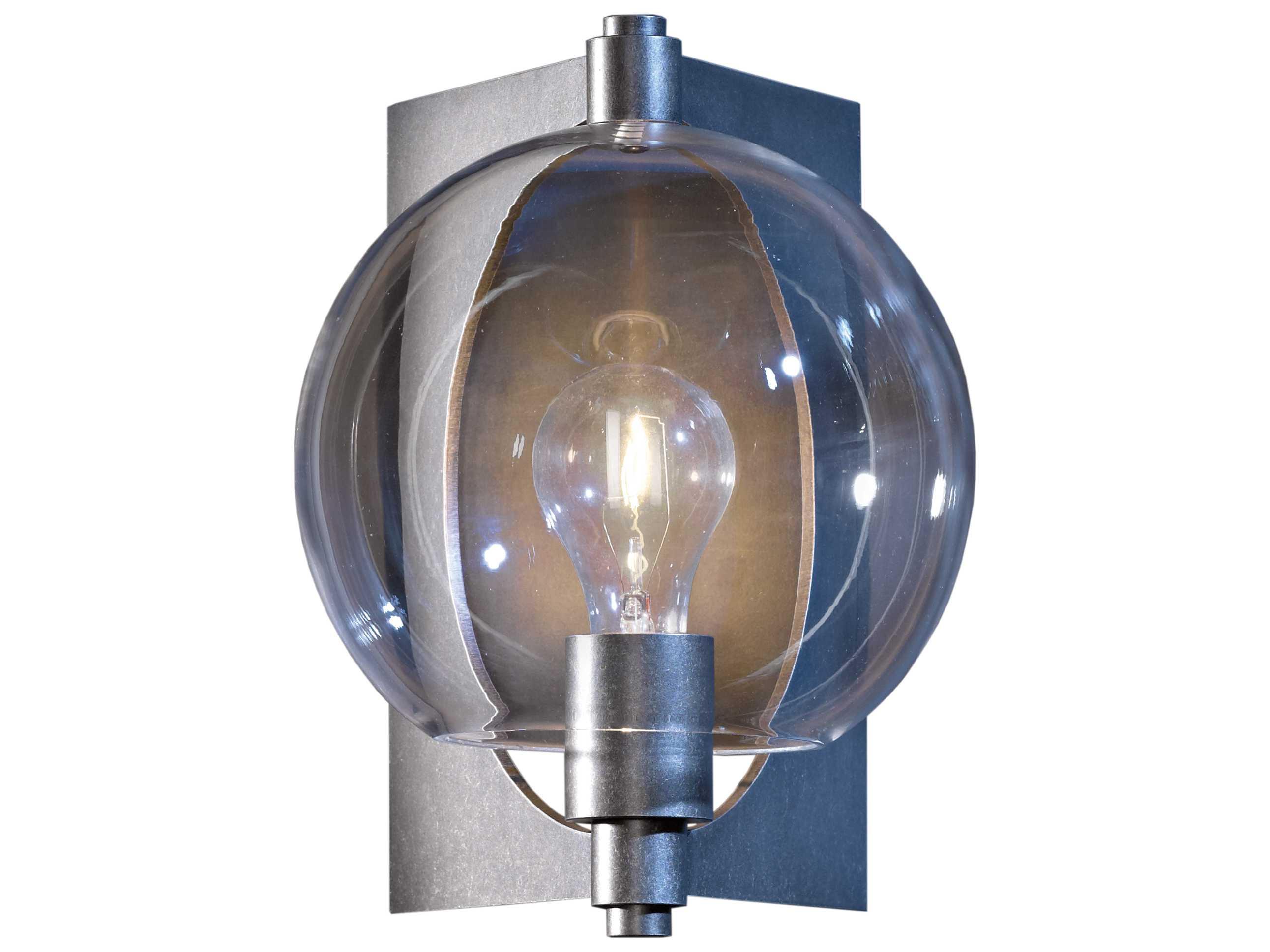 Hubbardton Forge Pluto Incandescent Outdoor Wall Light Hbf306603