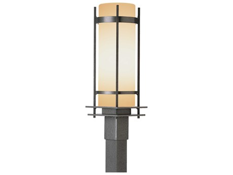 Hubbardton Forge Banded Incandescent Outdoor Post Light