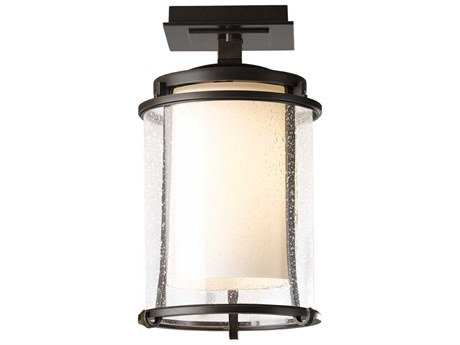 Hubbardton Forge Meridian LED Outdoor Ceiling Light
