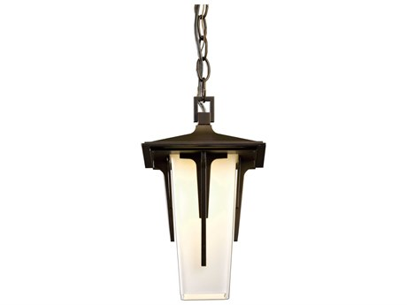 Hubbardton Forge Modern Prairie Incandescent Small Outdoor Hanging Light