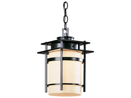 Hubbardton Forge Banded Incandescent Small Outdoor Hanging Light