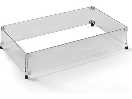 Homecrest 28.3 x 15.5 Rectangular Glass Guard