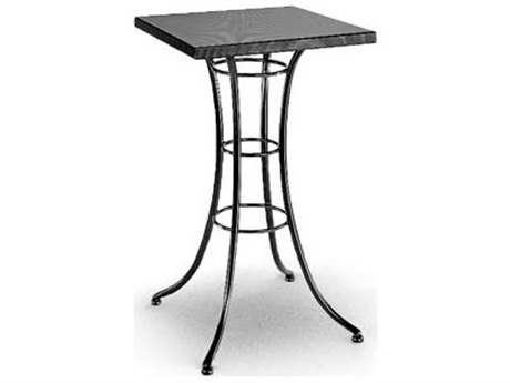 Homecrest Embossed Aluminum 24 Square Bar Table