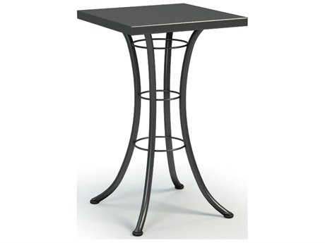 Homecrest Embossed Aluminum 24 Square Bar Table