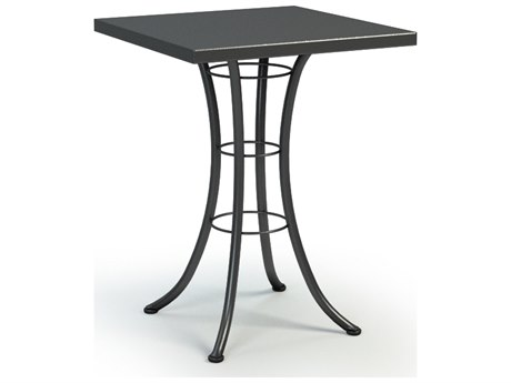 Homecrest Embossed Aluminum 30 Square Bar Table