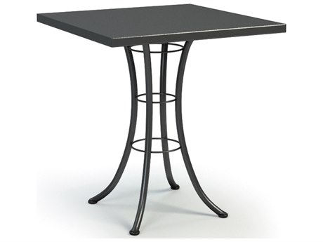 Homecrest Embossed Aluminum 36 Square Bar Table