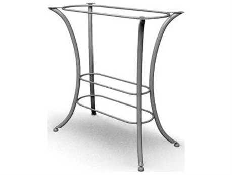 Homecrest Classic Steel 26 x 44 Rectangular Bar Table Base