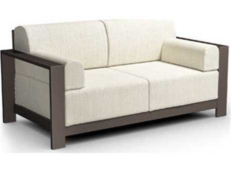 Homecrest Grace Cushion Aluminum Loveseat