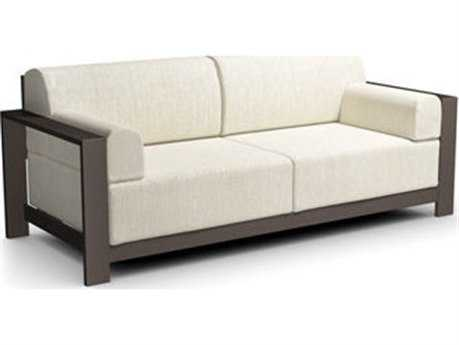 Homecrest Grace Cushion Aluminum Sofa