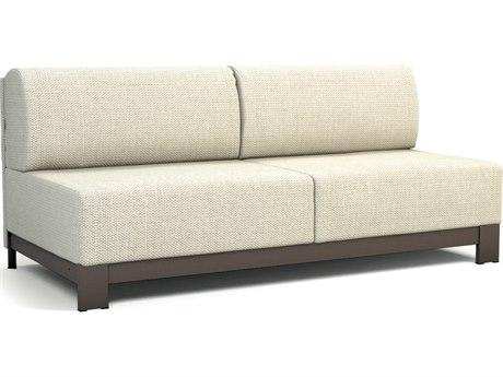 Homecrest Grace Replacement Armless Sofa Replacement PatioLiving