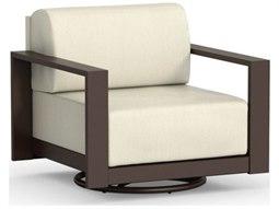 Homecrest Grace Cushion Aluminum Swivel Lounge Chair