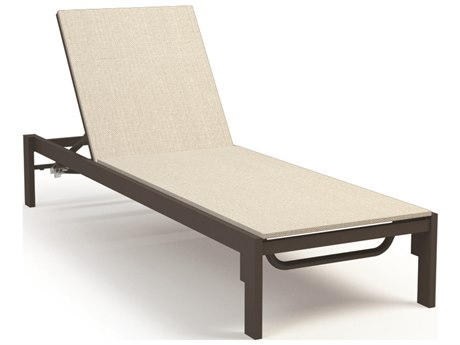 Homecrest Allure Aluminum Sling Adjustable Chaise Lounge