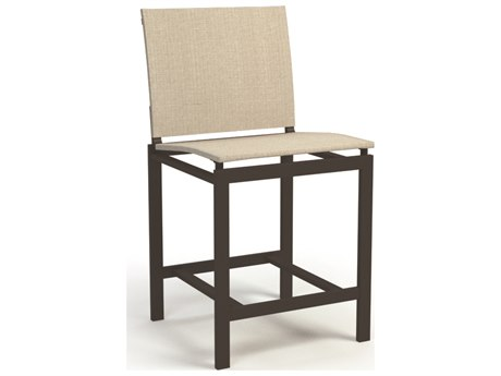 Allure Sling Aluminum Counter Side Stool