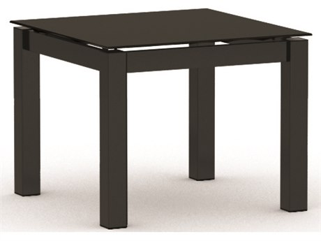 Homecrest Mode Aluminum 22 Square Side Table