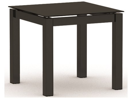 Homecrest Mode Aluminum 22 Square End Table
