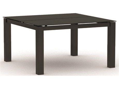 Homecrest Mode Aluminum 44 Square Chat Table HC134444C
