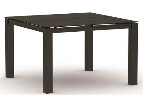 Homecrest Mode Aluminum 44''Wide Square Dining Table
