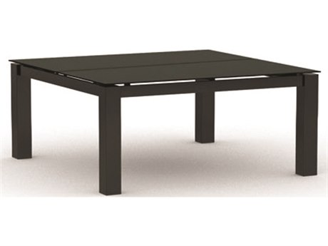 Homecrest Mode Aluminum 44 Square Coffee Table