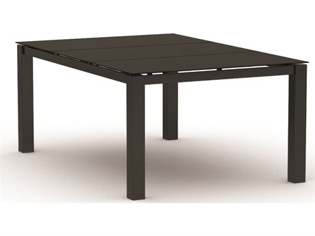 Homecrest Mode Aluminum 66 x 44 Rectangular Dining Table